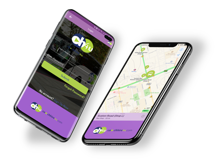 coachhire4u mobile app preview
