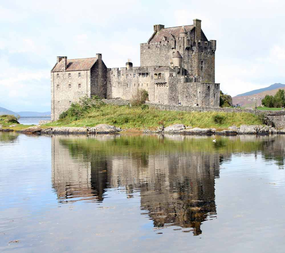 a castle in Scotland