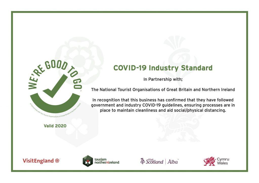 COVID-19 Industry Standard Certificate